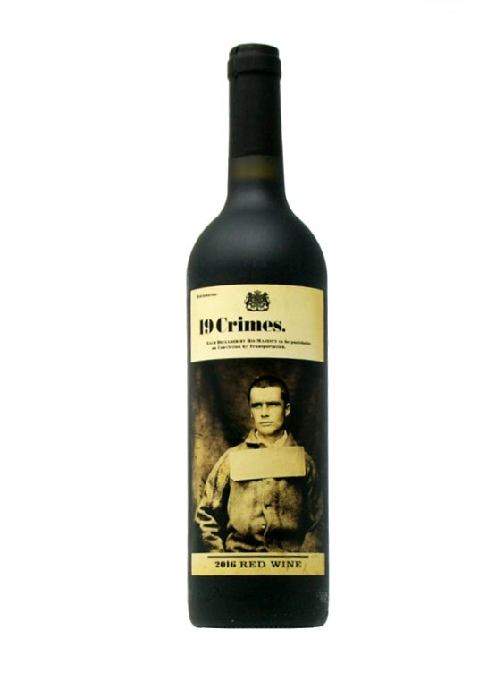 19 Crimes - Red Blend 2019 - Australien - Rotwein - Wein