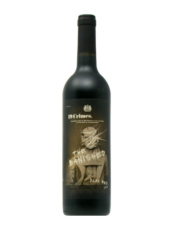 19 Crimes - The Banished Dark Red Blend 2016
