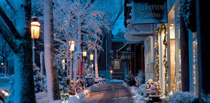 Nantucket Main Street at Christmas