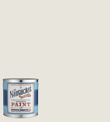 Lighthouse Off White Flat Matt Emulsion Interior Wall Paint. 2.5 Litres.