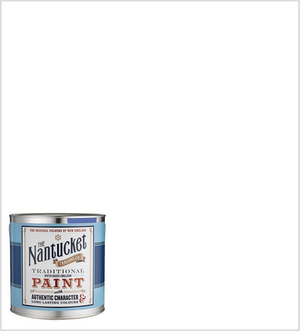 Lighthouse Pure White, Flat Matt Emulsion Interior Wall Paint. 2.5 Litres.