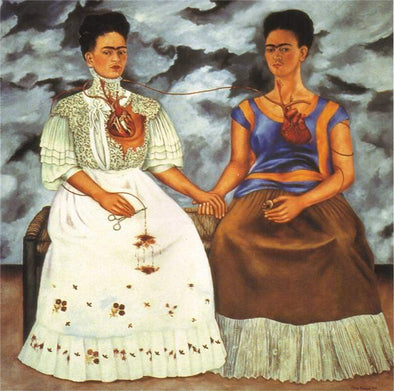 10 OF THE MOST FAMOUS PAINTINGS BY FRIDA KAHLO