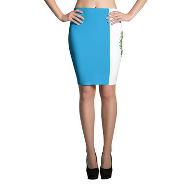 I Love Guatemala Flag Skirt / pencil Skirt / Guatemalan Flag