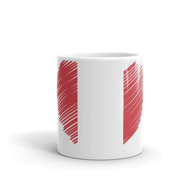 I love Peru Flag Coffee Mug / Coffee Mugs / Peru Flag