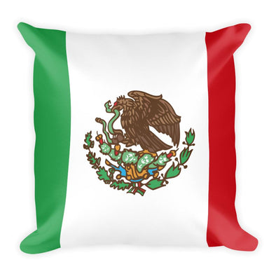 Mexico Flag Throw Pillow / Mexico / Mexican Pillows