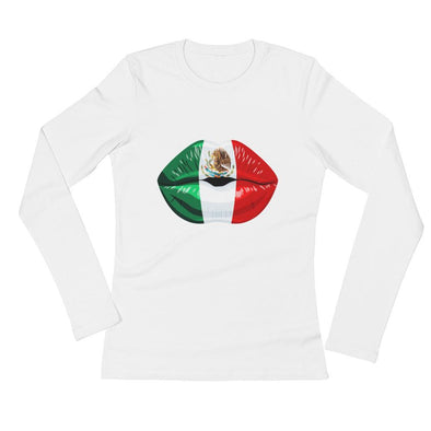 Mexico Juicy Kiss Ladies' Long Sleeve T-Shirt