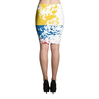 Colombian Flag Skirt / Pencil Skirts / Colombian Flag