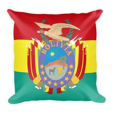 Bolivia Flag Throw Pillow / Bolivia Flag / Pillows