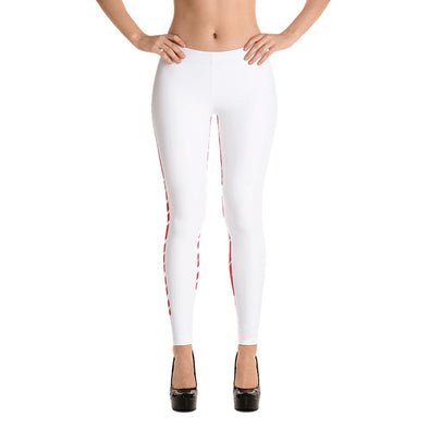 Peru Flag Leggings / Women's Leggings / leggings for women