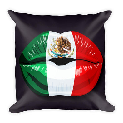 Mexican Flag Throw Pillow / Mexico kiss/ Pillows