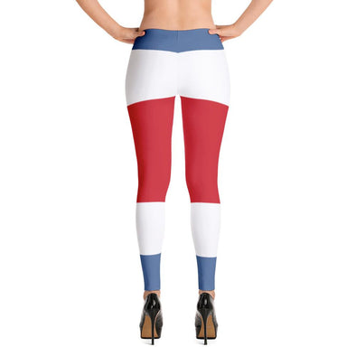 Costa Rica Flag Leggings / Women's leggings / leggings for women