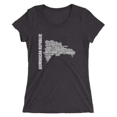 Dominican Republic t-shirt / Map of the Dominican Republic t-shirt / Republica Dominicana