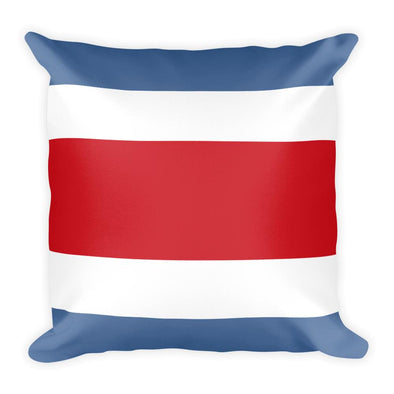 Costa Rica Flag Throw Pillow / Costa Rica Flag / Throw Pillows