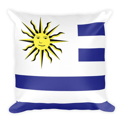 Uruguay Flag Throw Pillow / Uruguay Flag / Throw pillows