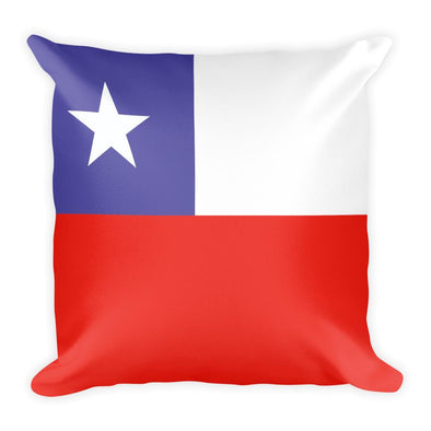 Chile Flag Throw Pillow / Throw pillows / Chile Flag