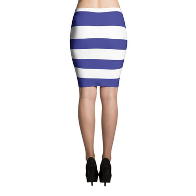 I love Uruguay Flag Pencil Skirt / Uruguay Flag