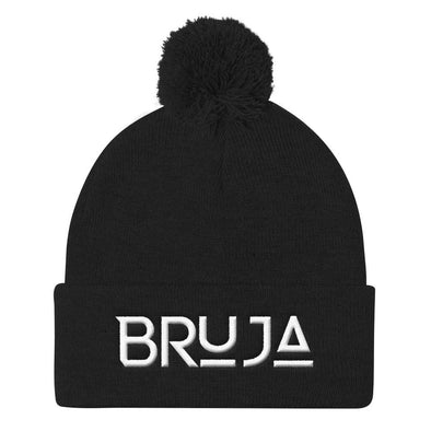 Bruja Knit Cap with Pom Pom / Bruja hat / bruja beanie hats
