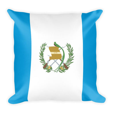 Guatemalan flag Throw Pillow / throw pillow / Guatemala flag