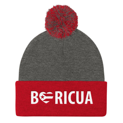 Shop Boriqua Knit beanies with Pom pom / puerto rican beanie