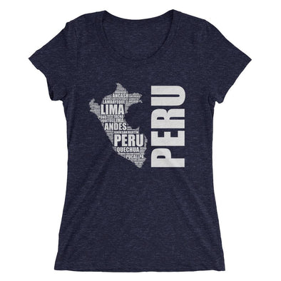 Map of Peru t-shirt / Peru t-shirt