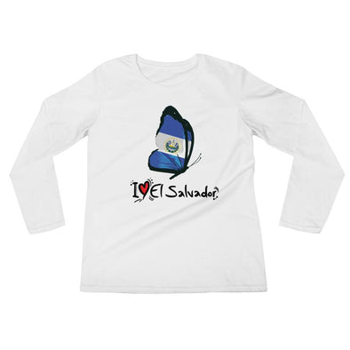 I love El Salvador t-shirt / Women's Long Sleeve T-Shirt
