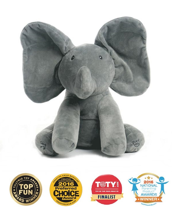 Peek a Boo Flappy Elephant Musical Toy