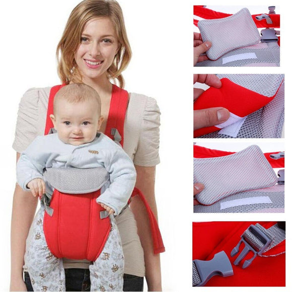 Multifunctional Baby Sling Breathable Backpack Carrier
