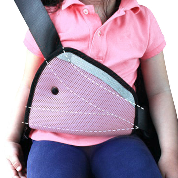 Baby Kid Safe Fit Seat Belt Adjuster Car Safety Belt Adjustable Pad - BabyKid Mart