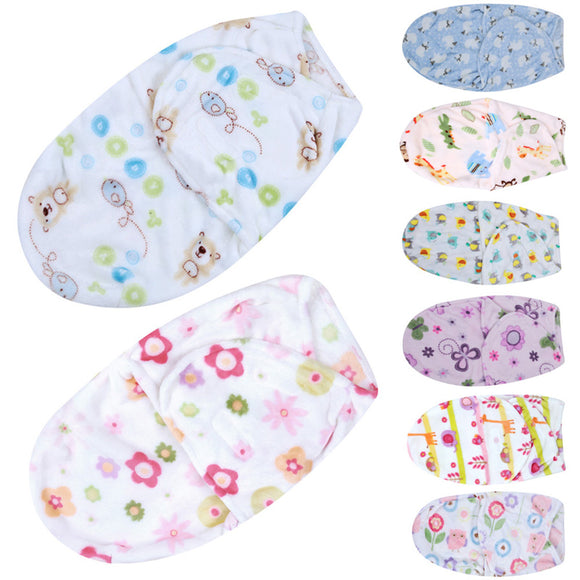 Diapers Swaddle Infant Newborn Baby Wrap Blanket Envelope Sleep Bag - BabyKid Mart