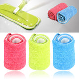 Household Home Use Mop Reusable Microfiber Pad Dust Cleaning - BabyKid Mart