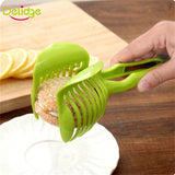 Tomato Slicer Fruits Cutter Stand Tomato Lemon Cutter Assistant Slicer - BabyKid Mart