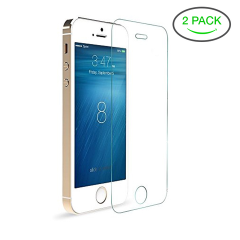 Tempered Glass Screen Protector - 2 Pack