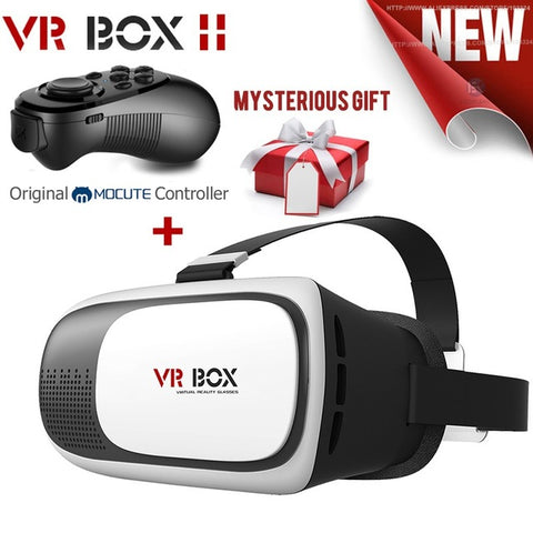 VR Box 2.0 Video Headset + Gamepad