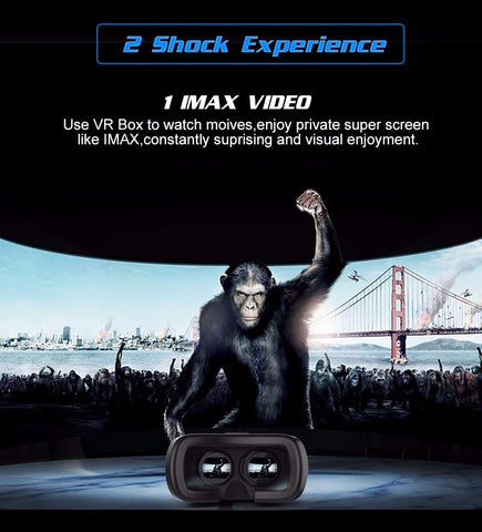 Image of VR Box 2.0 Video Headset + Gamepad