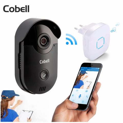 Image of Cobell Video Door Phone Intercom with Night Vision