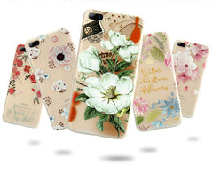 Flower Soft Cover for iPhone