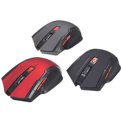 Mini Wireless Optical Mouse for PC Gaming with USB Receiver