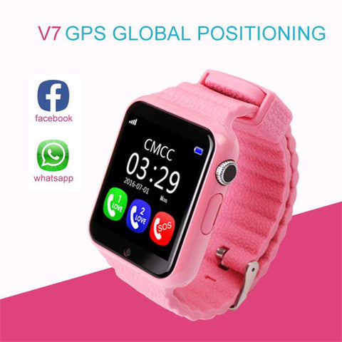 ITORMIS Kids Waterproof Smart Watch with Safety GPS Location & Tracker