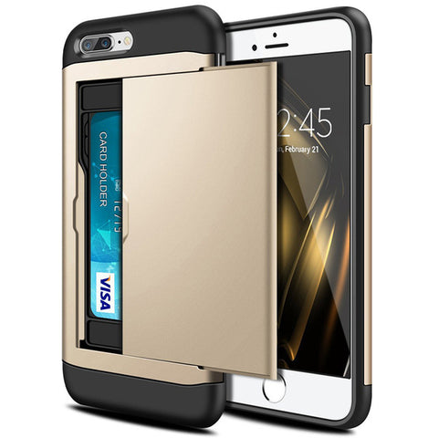 iPhone Hybrid Case with Card Holder