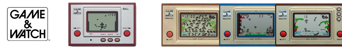 GAME & WATCH Video Games