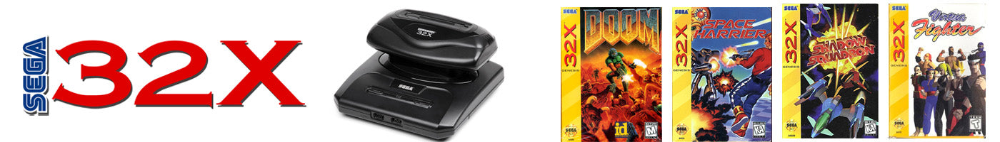 SEGA 32X Video Games