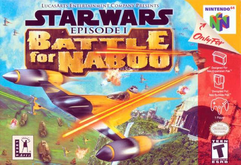 Star Wars: Episode I Battle for Naboo - Nintendo 64 [USED]