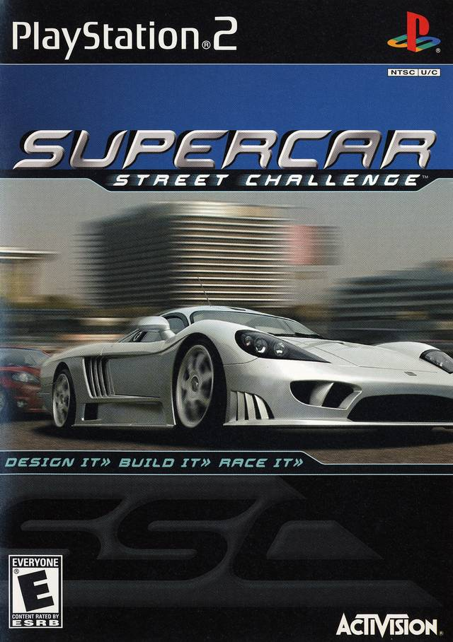 Supercar Street Challenge - PlayStation 2