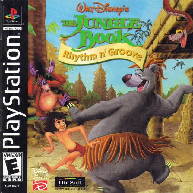 Walt Disney's The Jungle Book: Rhythm N'Groove - PlayStation