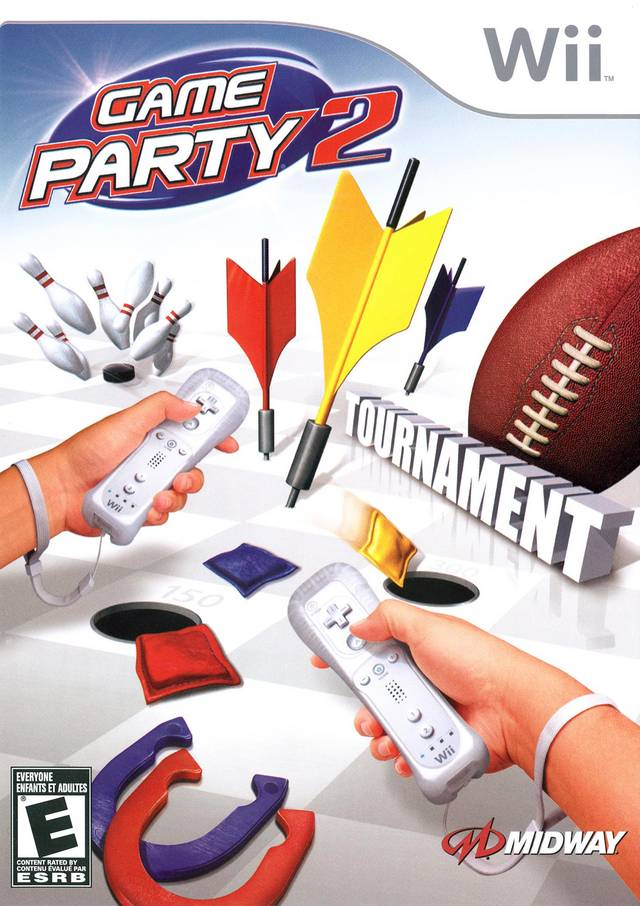 Game Party 2 - Nintendo Wii [USED]