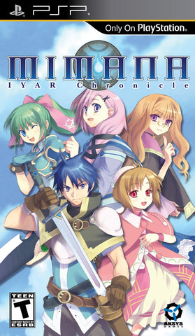 Mimana Iyar Chronicle - PSP