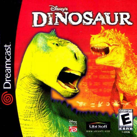 Disney's Dinosaur - SEGA Dreamcast (A-AVG, 2000) [USED]