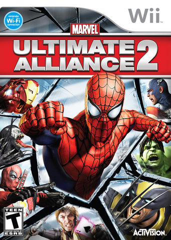 Marvel: Ultimate Alliance 2 - Nintendo Wii [USED]
