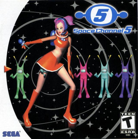 Space Channel 5 - SEGA Dreamcast [NEW]