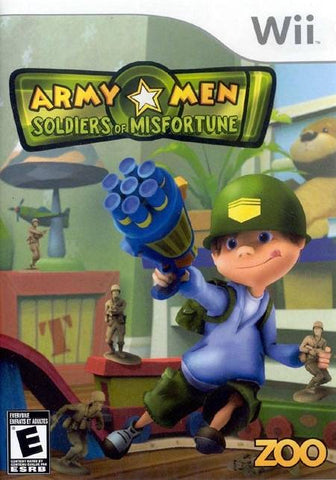 Army Men: Soldiers of Misfortune - Nintendo Wii [USED]